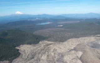 Medicine Lake, Mt. Shasta, geothermal activity   MSBEC   Mount Shasta Bioregional Ecology Center